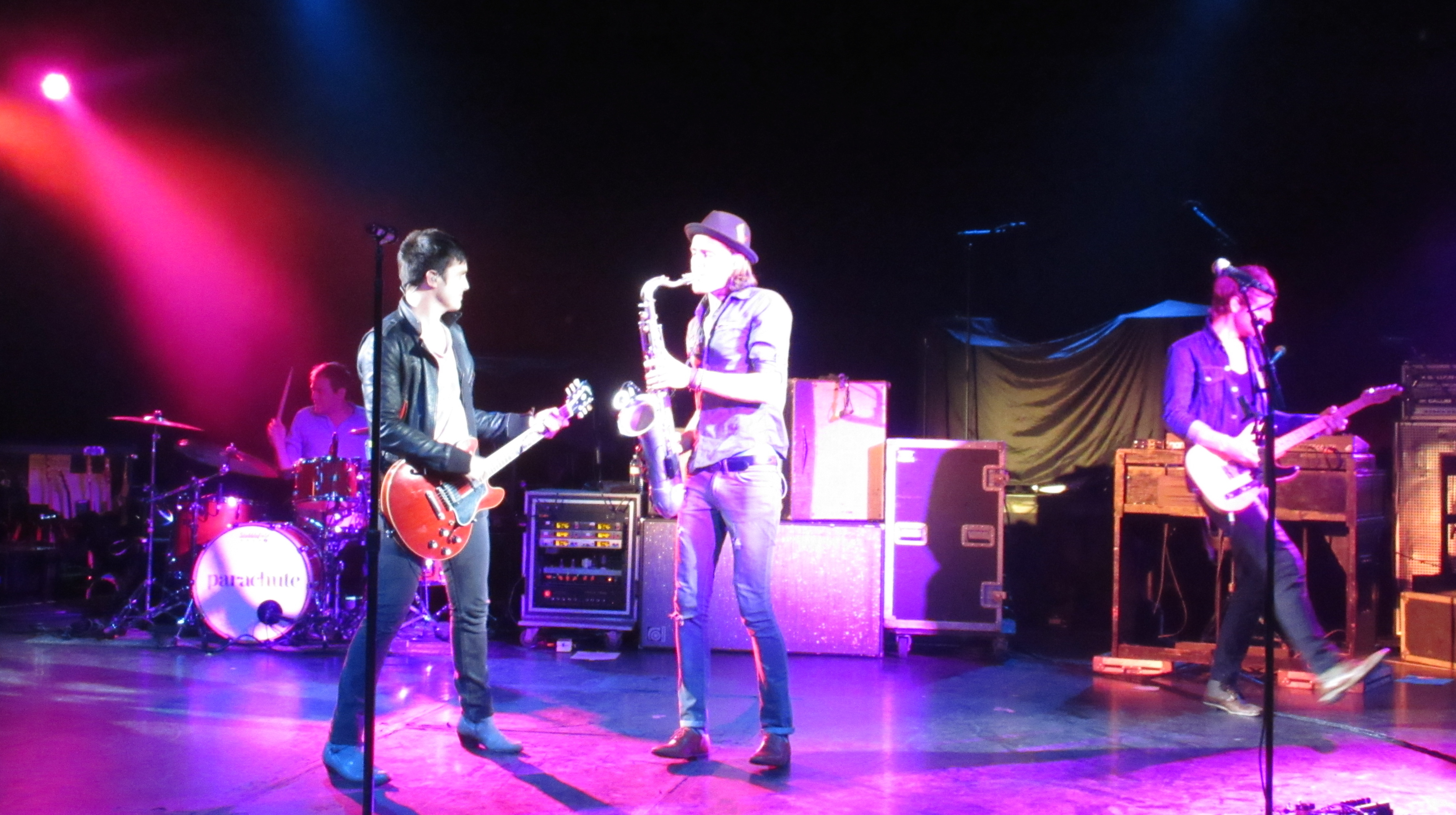 PARACHUTE TOURS WITH GAVIN DEGRAW