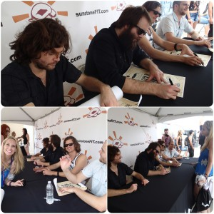 Autograph booth at Edgefest24