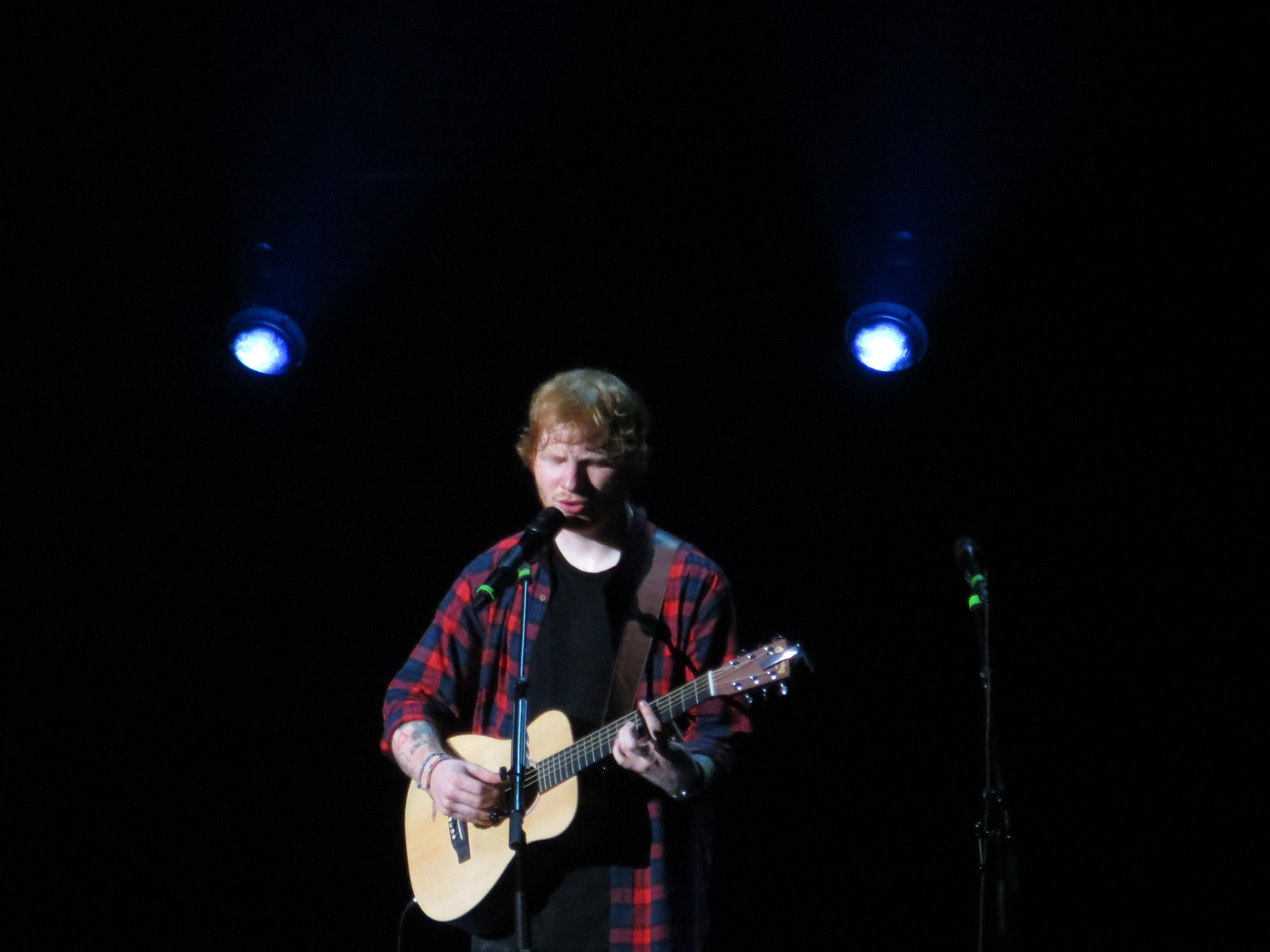 Ed Sheeran Takes the Stage in Boston